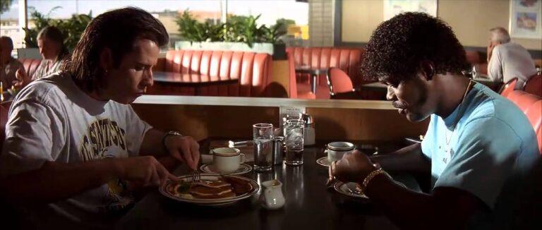 Pulp Fiction - diner scene